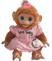 """Fur Real Friends Cuddles My Giggly Monkey 17"""" Interactive Pet 2012 A1650 Talking - $39.59"""