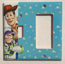 Toy Story Woody Buzz Lightyear Light Switch Power Outlet Wall Cover Plate Decor image 6