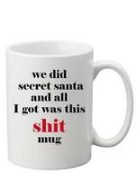 Secret Santa 10oz Funny Joke Mug Rude Swearing Perfect Gift Can Be Perso... - $8.93
