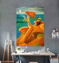 3D Seegöttin 3736 Fototapeten Wandbild Fototapete Bild Tapete Familie AJSTORE DE - $37.76+
