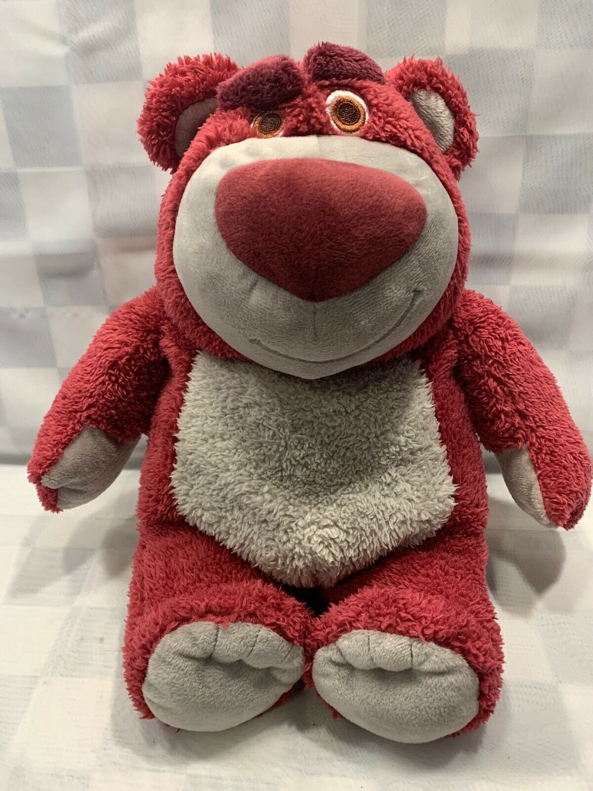 "Primary image for LOTSO Toy Story 3 Bear Scented 15"" Disney Store Plush Authentic Genuine toy"