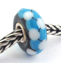 Authentic Trollbeads Murano Glass Rod Retired Bead Charm 61342, New - $23.75