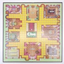 Clue Game Board Only Bi Fold Replacement Game Part Piece 1992 - $9.99