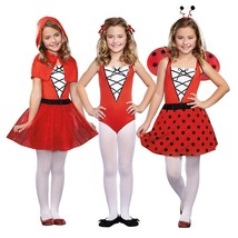 New Kids Girl Totally Ghoul 3 In 1 Storybook Beauties Costumes S 4-6 Dress Up - $27.77
