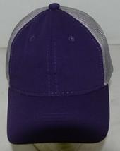 OC Sports Ladies Fit Outdoor Cap Royal Purple Dark Grey FWT130L image 2