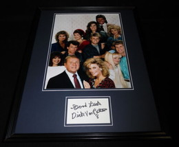 Dick Van Patten Signed Framed 16x20 Photo Display 8 is Enough w/ cast - $65.09