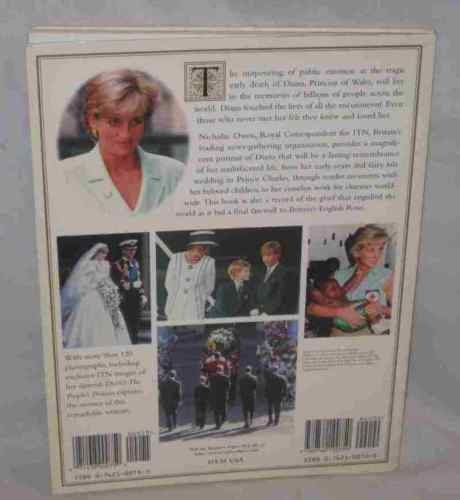 Commemorative Tribute Diana The People's Princess Book Nicholas Owen