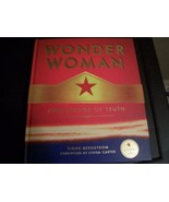 """RARE WONDER WOMAN """"AMBASSADOR of TRUTH"""" COFFEE TABLE HARDBACK BOOK 176PAGES MINT - $24.00"""