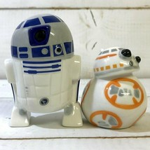 Disney Star Wars R2D2 & BB-8 salt & pepper case seasoning bottle pottery - $55.44