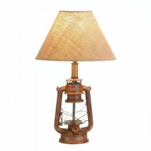 New Vintage Camping Lantern Table Lamp - $62.25