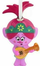 Hallmark® character decoupage ornament Trolls  Poppy with Ukulele approx... - $14.00