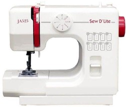Janome compact electric sewing machine sew D `Lite JA525 New From Japan ... - $183.80