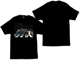 The Beatles Abbey Road Crosswalk Image Men's T-Shirts Sizes (S thru 4XL) - $24.74