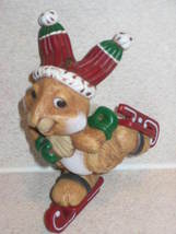 Hallmark Christmas Ornament 1983 Skating Rabbit - $8.99