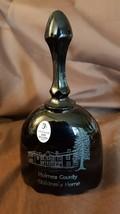 Fenton Art Glass ETCHED 2005 Black Amethyst Holmes County Antique Festiv... - $9.99