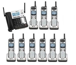 AT&T SB67138 DECT 6.0 4 Line Business 1 Corded 9 Cordless Phones w/Music On Hold - $1,208.55