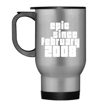 Kids Epic Since february 2008 Travel Mug  10th Birthday Gift Tee - $21.99