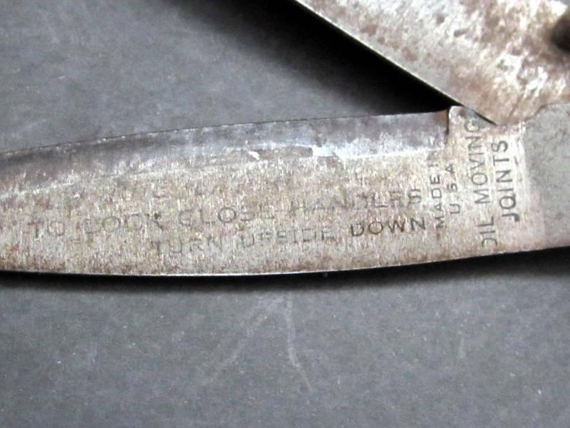 """Lot 3 Grass Clipper Shear Garden Hand Tool Patented """"Doo-Klip"""", SMS, True value"""