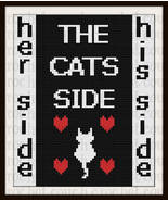Cats Side Afghan C2C Crochet Pattern Graph Row by Row Word Count Chart - $5.50