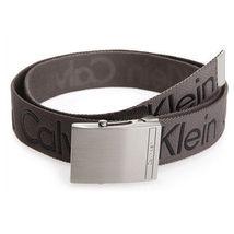 New Calvin Klein Men's Premium CK Logo Cotton Adjustable 38mm Canvas Belt 73545 image 11
