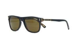 Chopard Gafas de Sol SCH219 Sch U64P Negro Brillante Havana U64P Gafas d... - $217.79