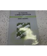 2003 Toyota LAND CRUISER Electrical Wiring Diagrams Service Shop Repair Manual - $37.57