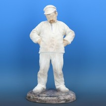"Large 11 1/2"" Bing & Grondahl Porcelain Figurine of a Man #1786 Bricklayer c1980 image 1"