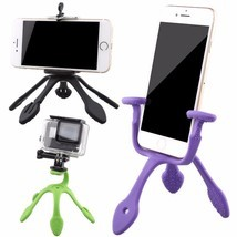 Mini Camera Tripod Mount Portable Flexible Stand Phone Holder Camera Acc... - €9,96 EUR