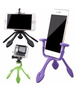 Mini Camera Tripod Mount Portable Flexible Stand Phone Holder Camera Acc... - £8.88 GBP