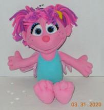 """2010 Hasbro Sesame Street Abby Cadabby Fairy Plush Toy 10"""" - $14.03"""