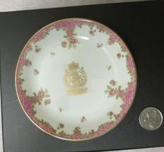 Vintage Royal Worcester Restaurant Brown's Hotel Ware Mint Dish Horse Logo Crest - $9.85