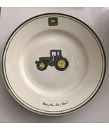 "John Deere Nothing Runs Like a Deere 11.25"" Dinner Plate Tractor Logo - $9.75"