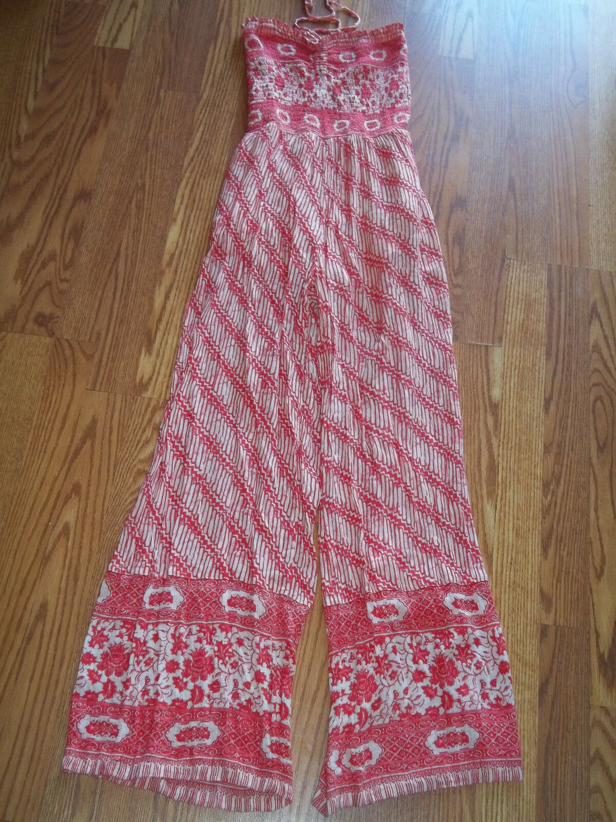 Free People Strapless Vintage Tube Romper Jumpsuit Size X Small