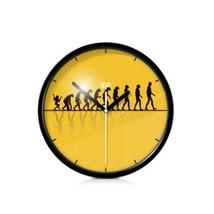 PANDA SUPERSTORE 8-inch Simple Design Decorative Wall Clock¡ª¡ª(Human Developmen - $42.13