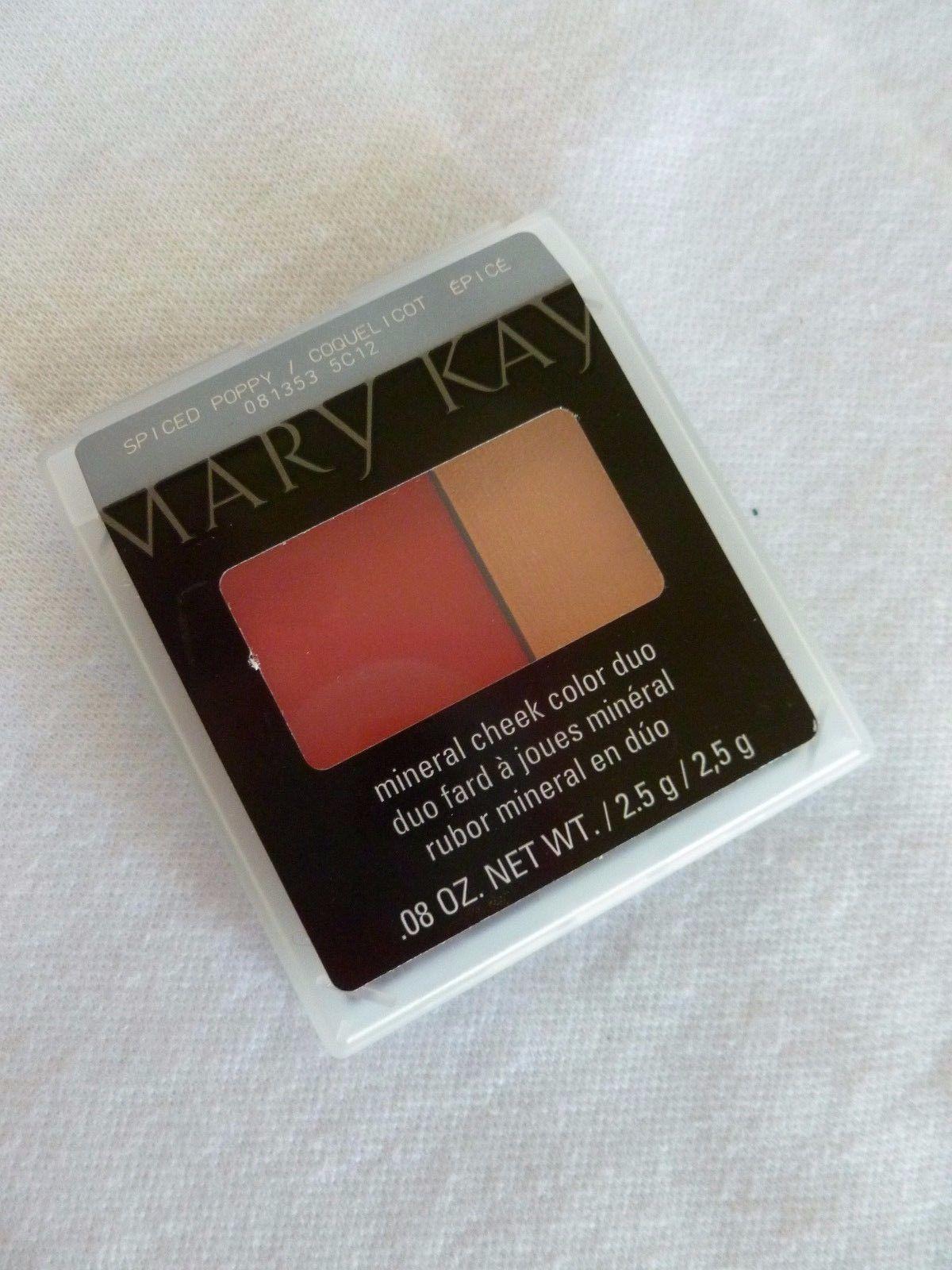 Mary Kay Mineral Cheek Color Duo, Spiced Poppy, NIB, Ships Free