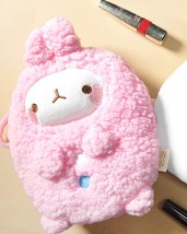 Molang Cosmetic Makeup Pen Strap Pouch Bag Case (Pink) image 7