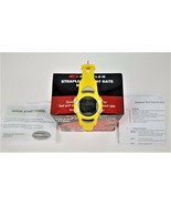 BOWFLEX Wristwatch EZ Pro Strapless Heart Rate Monitor-Yellow-Adjustable... - $13.92