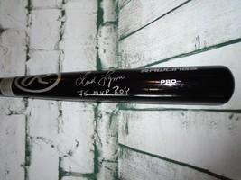 FRED LYNN autographed signed Rawlings Black Bat JSA Witness 75 MVP ROY - $93.49