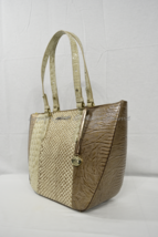NWT Brahmin Willa Carryall Tote/Shoulder Bag in Latte Buena Vista Multi-... - $329.00