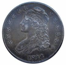 1836 Capped Bust Half Dollar 50¢ Coin Lot# EA 161