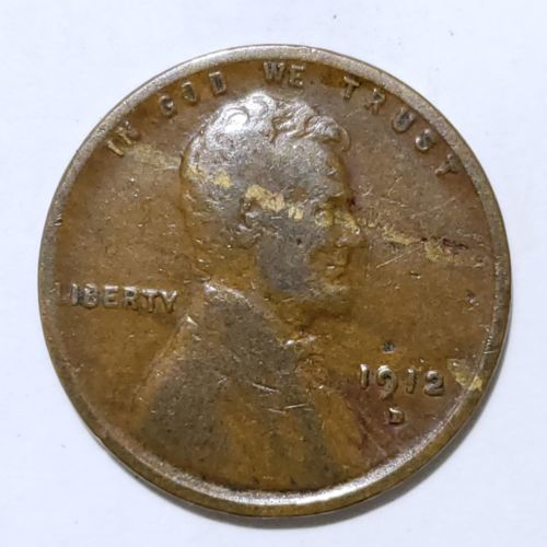 1912D LINCOLN PENNY CENT COIN LOT# E 264