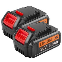 6000Mah Battery Replacement For Dewalt 20 Volt Max Lithium Ion Battery - $96.99