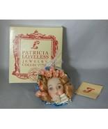 Patricia Loveless Jewelry Collection Mina Doll Head Pin - $9.90