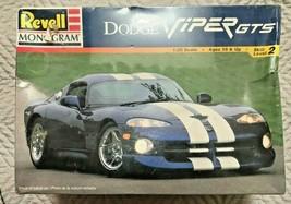 Revell Monogram Dodge Viper GTS 1:25 Scale Plastic Model Kit 85-6359 New... - $19.79