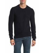 Original Penguin Ribbed Crew Neck Sweater,TRUE BLACK,Sz S - $65.33