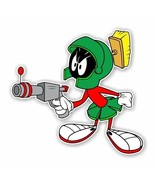 Marvin the Martian with Gun  Decal / Sticker Die cut - $2.96 - $3.95