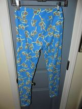 Lularoe Sunglasses Blue Leggings Size OS Women's EUC image 3