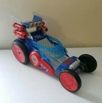 "Playskool 2012 Marvel Spider-Man Car & Hover Craft Vehicle Hasbro 10.5"" ... - $14.48"