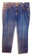 Size 18 - Faded Glory Dark Blue Straight Leg Denim Jeans  - $23.74