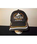Snowmobile Hall of Fame St. Germain Wisconsin strapback hat sku8 - $27.83